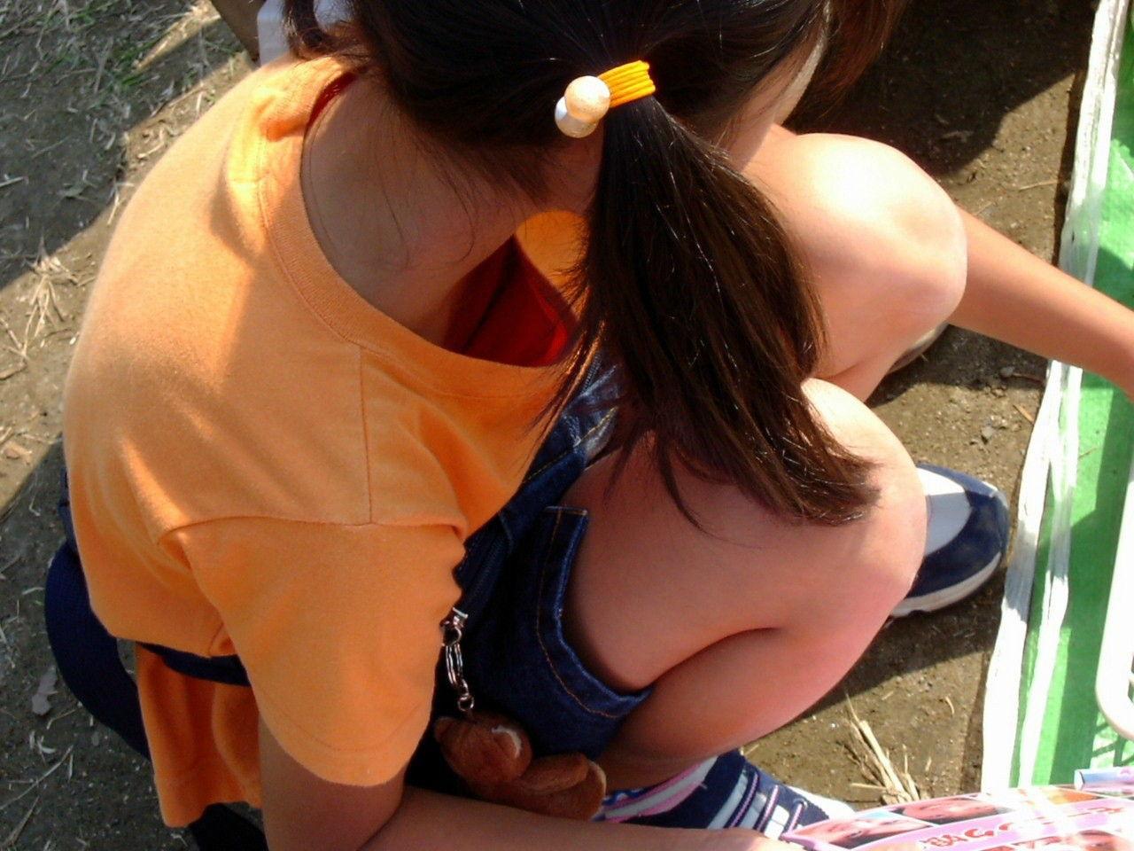 JSのふくらみかけのおっぱい3 女子○学生、胸チラ膨らみかけのおっぱいpt5