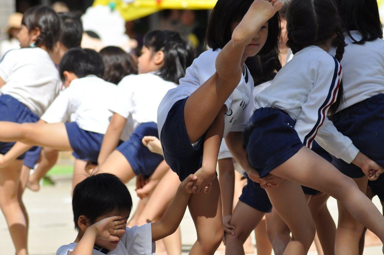 女子小学生 ふんどし祭り